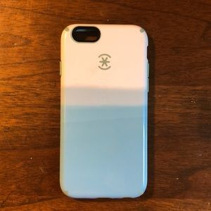 Blue and White Iphone 6s Case